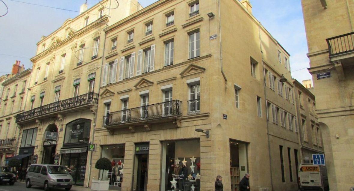 Vente appartement cours de l 39 intendance for Vente appartement centre ville bordeaux