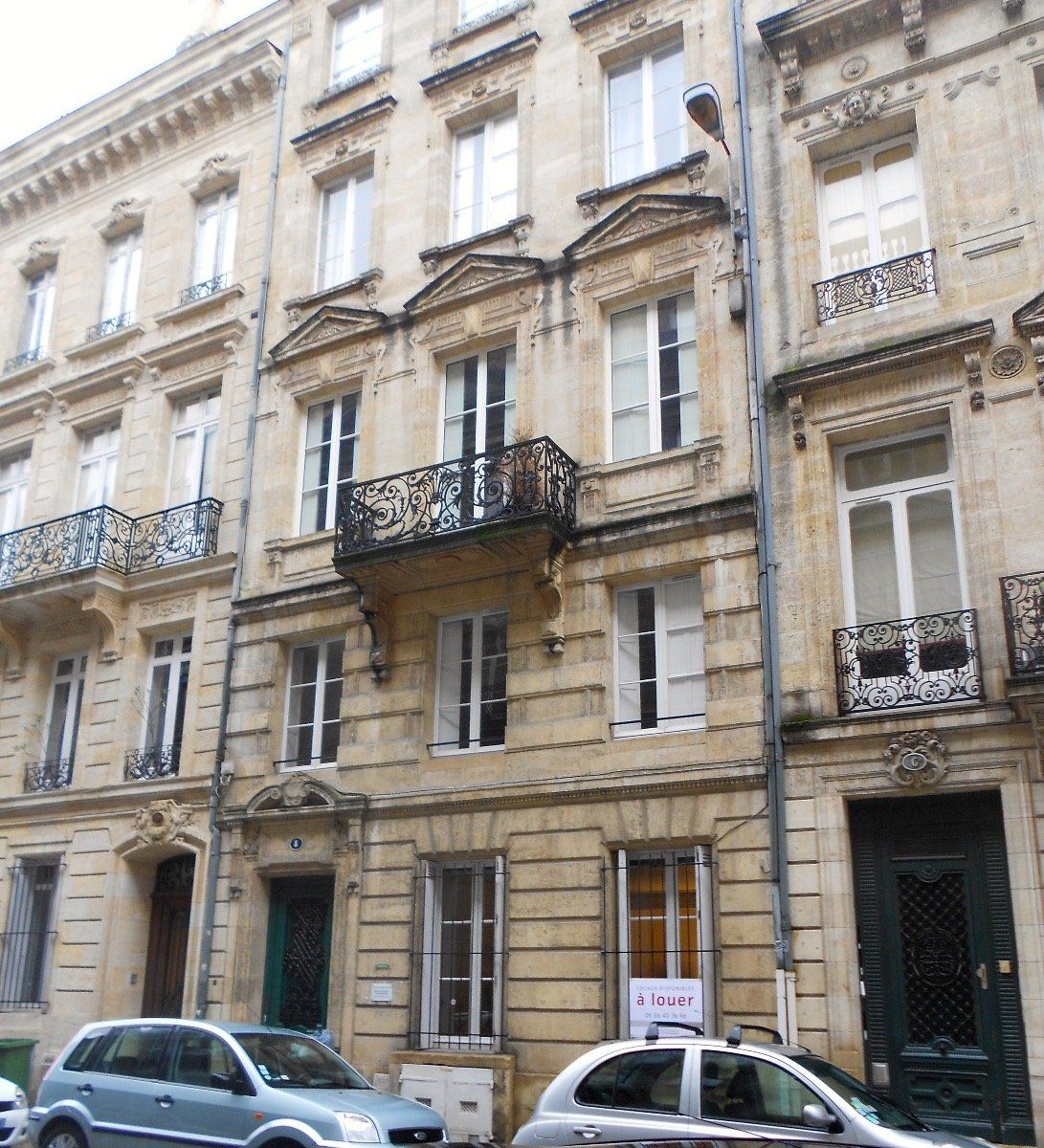 Vente exclusivit entre le jardin public et les for Appartement bordeaux 70m2